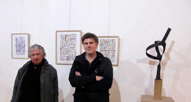Le peintre Authaire Guerre et le sculpteur Franck exposent leurs œuvres dans les galeries du Préau jusqu'au 10 mars prochain
