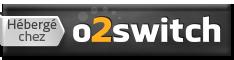 Hébergé chez O2switch