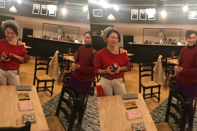 Atelier carnet Café Tchakili