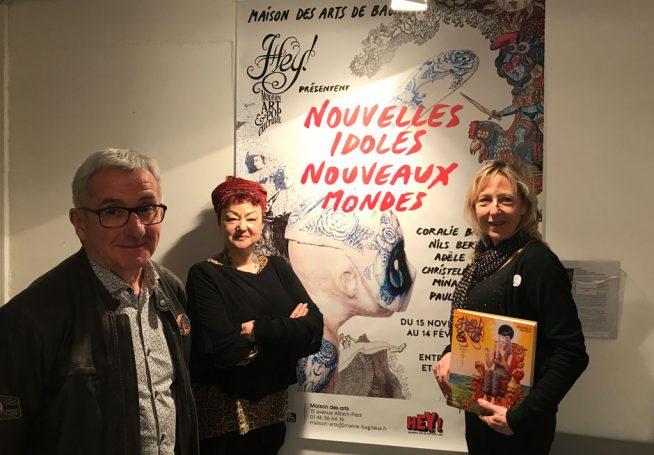 Jean-Yves, Anne de Hey! et Nathalie Pradel