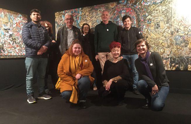 Photo de groupe exposition