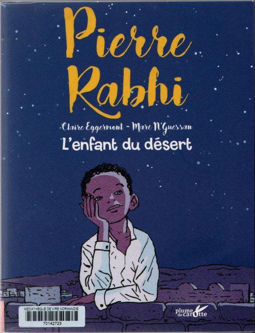 L'enfant du désert, Pierre Rabhi, couverture