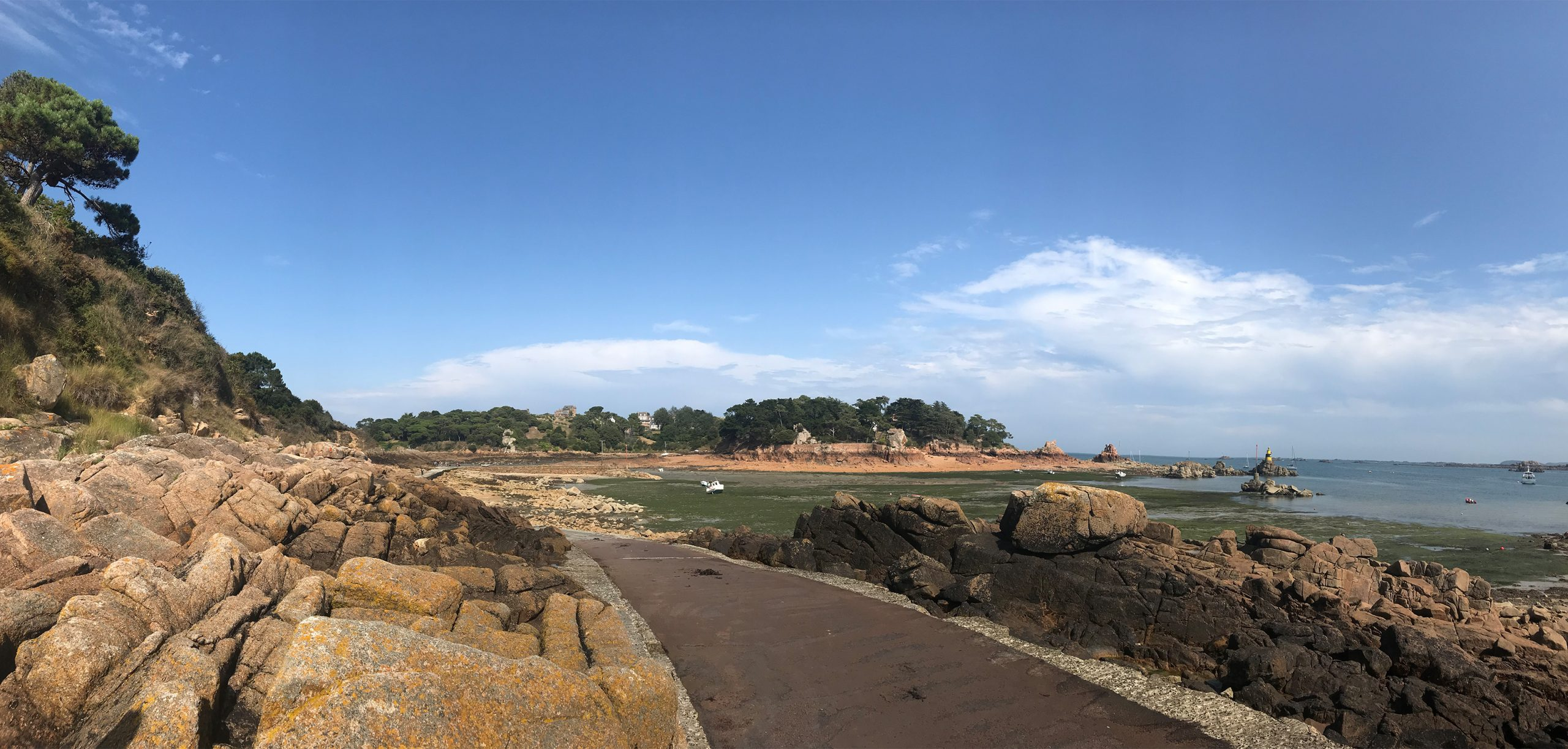Panorama sur l'île de Bréhat