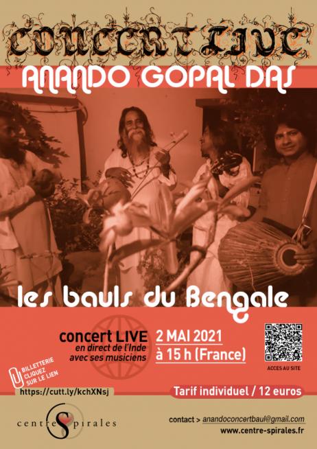 Anando Gopal Das et les Bauls du Bengale
